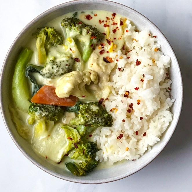 Easy Green Curry The Dish On Healthy