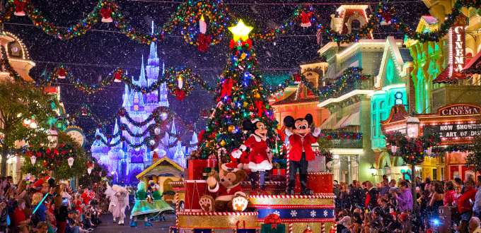 its april so of course its time to start thinking about christmas right well disney thinks so the mickeys very merry christmas party dates for 2017 - Disney Christmas Decorations 2017