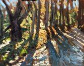Sparks Lane, oil on panel, 11 x 14 in.