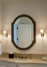 custom joined oval mirror