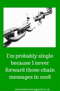 I'm probably single because I never