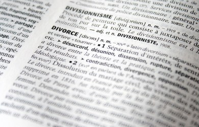 Divorce law reform