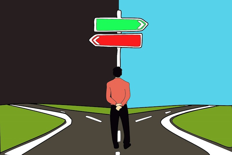 make good decisions when going through divorce
