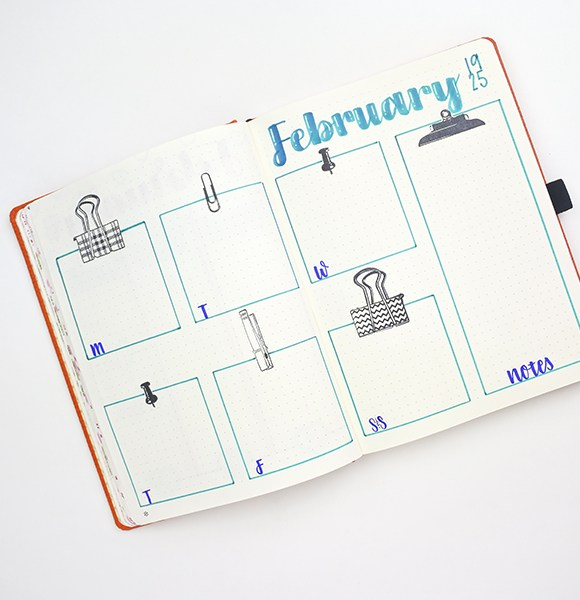 The Go-To Stamps in the Planner Journal