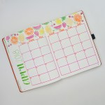 Journal Calendar - Fruity Fruits