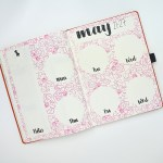 Notebook Journal - Pink Peonies @thediyday www.thediyday.com