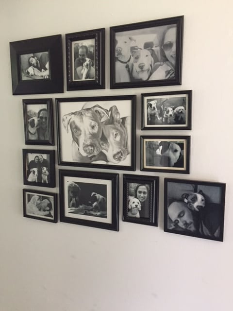 black and white photo gallery