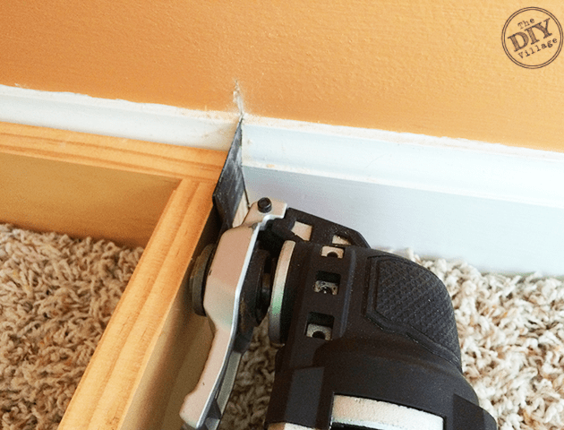 Cutting-Out-Baseboard