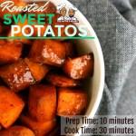 Simple Skillet Sweet Potatoes
