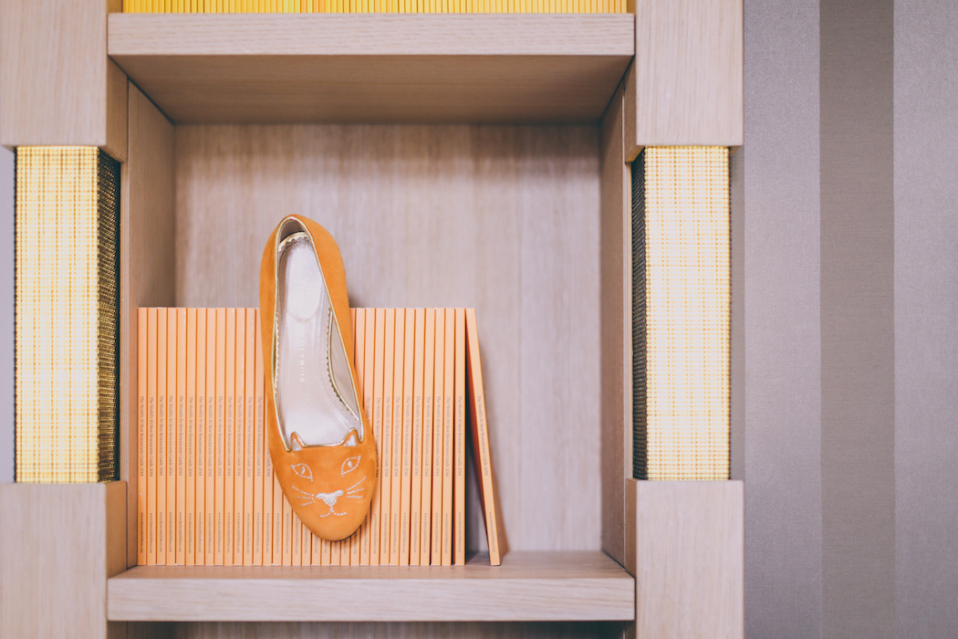 veuve clicquot charlotte olympia shoes