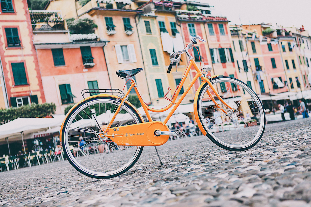 Veuve Clicquot Rich Portofino bicycle