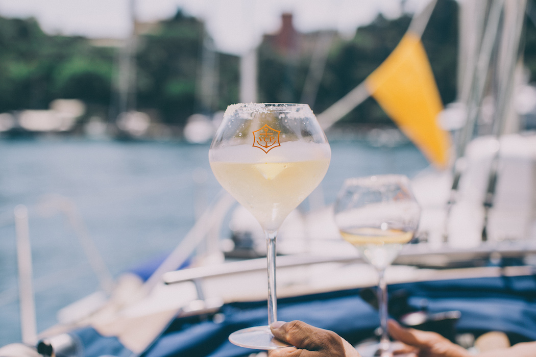 Veuve Clicquot Rich Portofino grapefruit