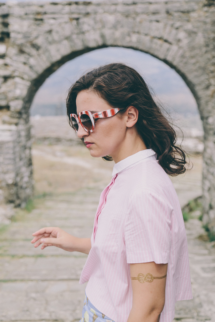 Albania fashion blogger anja tufina
