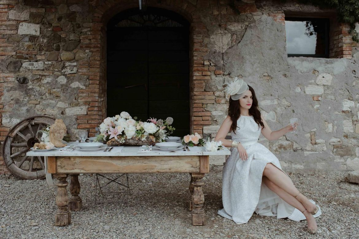 bride in tuscany fashion blogger anja tufina