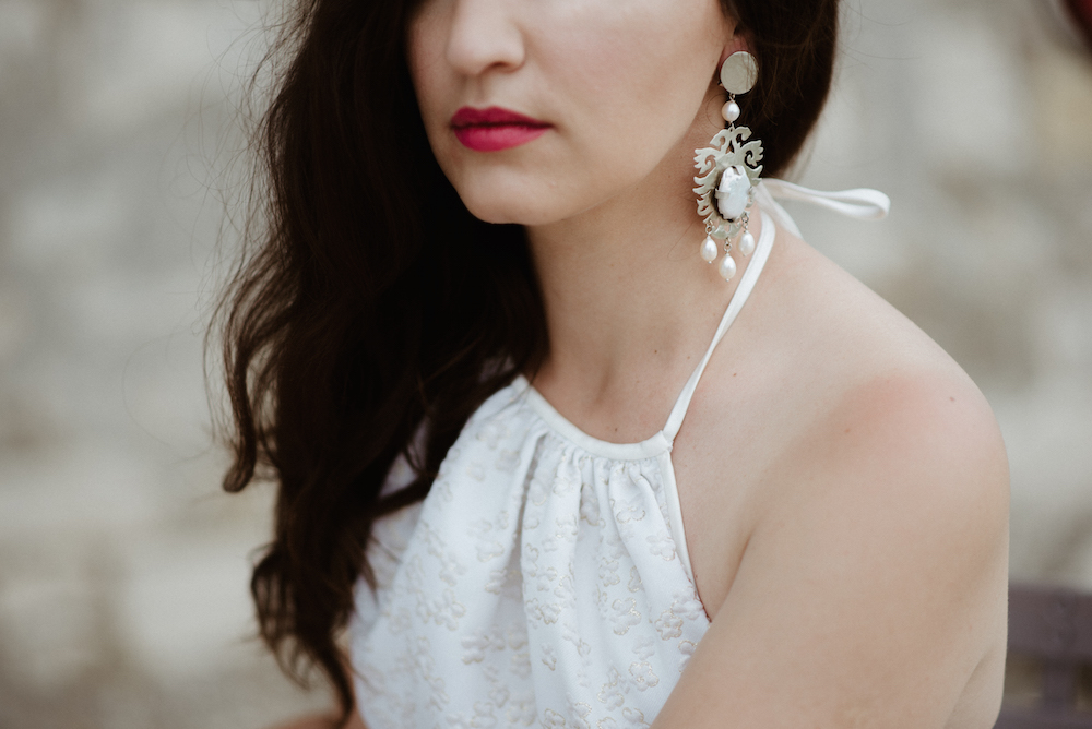 Fashion Blogger Wedding Chiara Passa jewelry