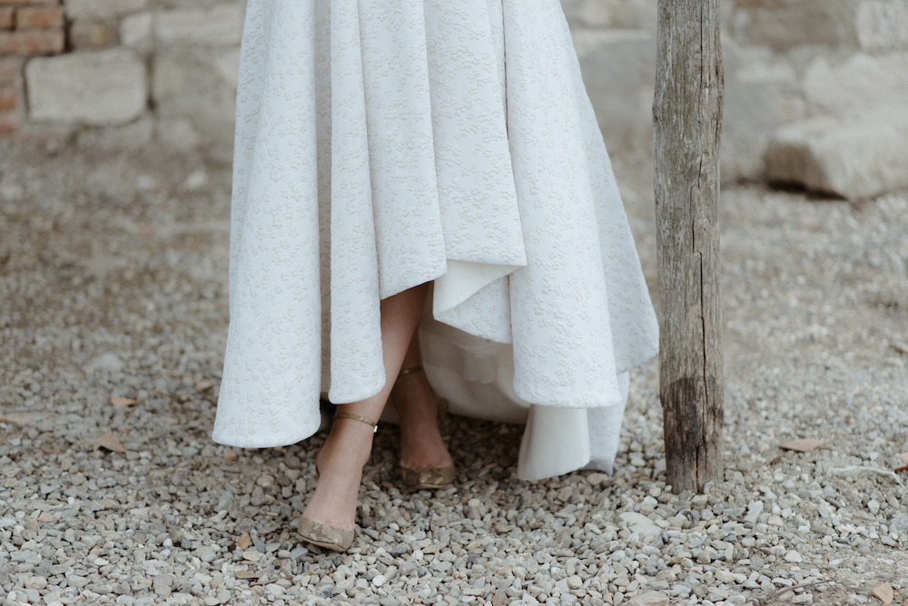 Fashion Blogger Wedding Tuscany gucci