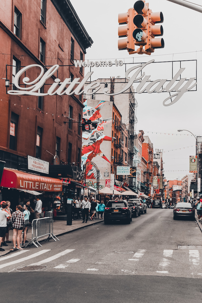 New York Travel Blogger downtown little italy