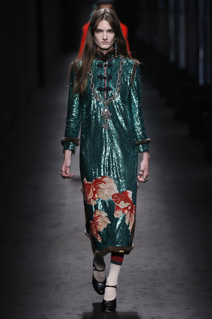 Fashion trend Metallics Gucci