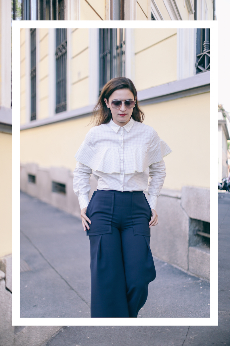 streetstyle-ruffles-shirt-mangano-pants-twisty-parallel-universe-ruffle-shirt