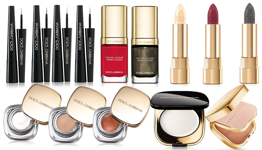 dolce gabbana beauty makeup collection holidays
