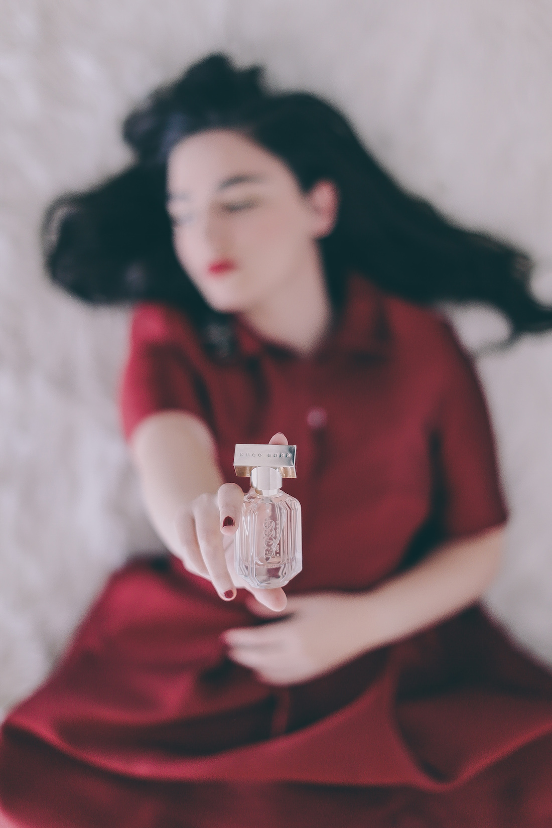 BOSS the scent fragrance beauty blogger