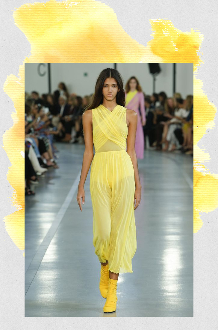 Emilio Pucci primrose yellow fashion trend