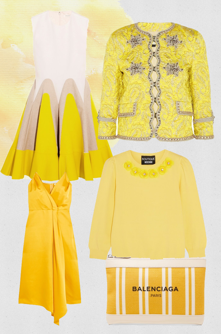 shopping fashion trends primrose yellow