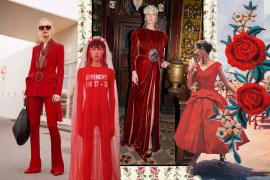 fashion trend fall winter 2017 2018 red
