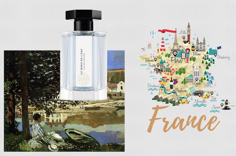 Summer travel fragrances