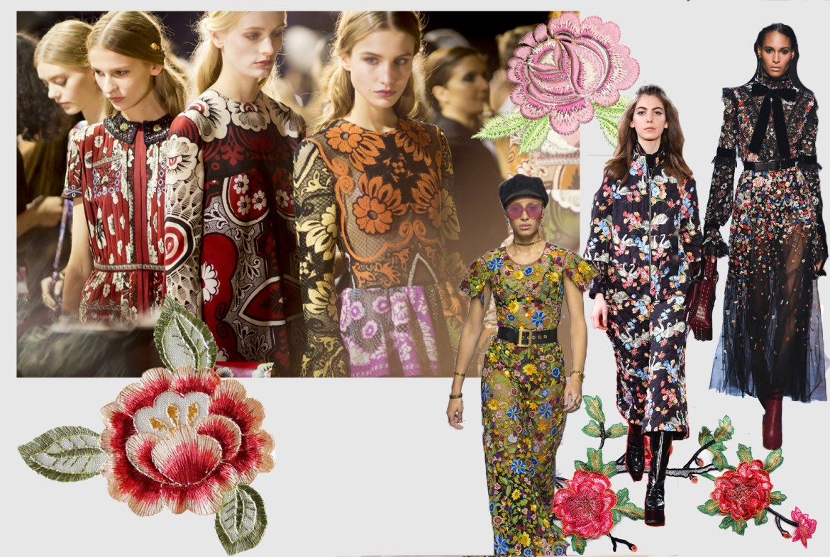 Flower Trend for Fall Winter 2018 2019 - Fashion Trends