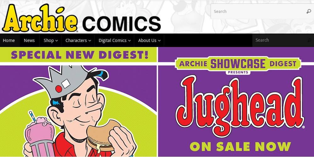 Archie Comics Domains