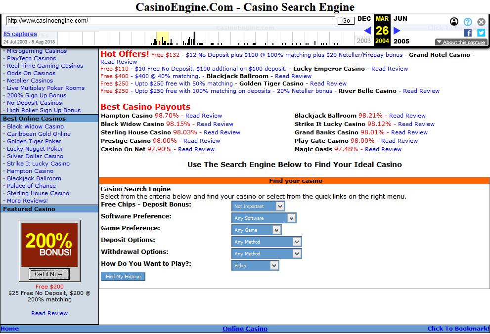 Casino Engine