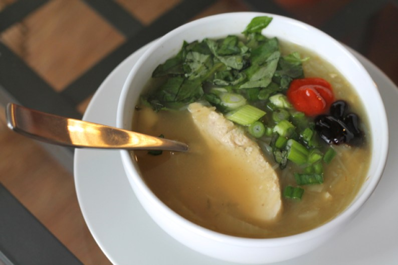 Chinese Five-Spice Soup | thedomesticblonde.com