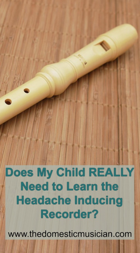 Learn the recorder