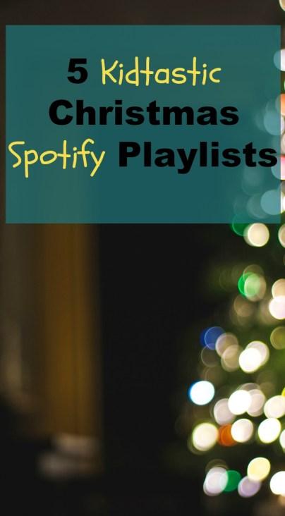Kids Christmas Spotify playlists
