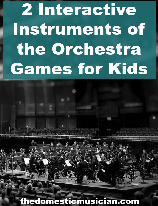 instruments of the orchestra games for kids