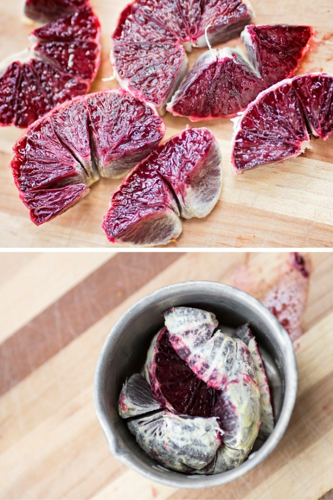 Blood Orange Balsamic Shrub + How to Make Shrubs Email Course! click to grab the course from A Domestic Wildflower and learn how to make these sweet tart shrubs!