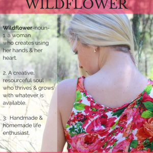A Wildflower is a metaphor for the type of person I hope to be, and hope to help you become. Wildflowers grow where you least expect it, with sunshine and simple food. They are beautiful, strong, steadfast, and resourceful. This little collection of essays aims to encourage those of you in whatever season of growth you may be enjoying. Happy reading, Wildflowers.