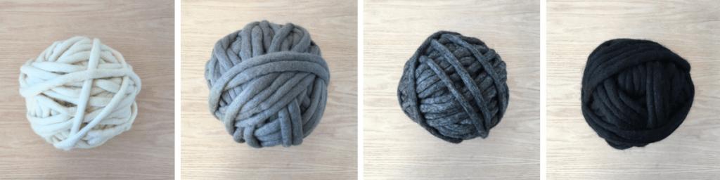 Felted Yarn Basket