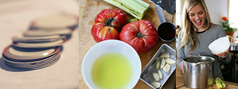 Beginner Canning Tutorial for Busy Moms | Read this post if you'd love to make more homemade food for your family but think you don't have the time.