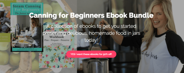 Canning for Beginners Ebook Bundle