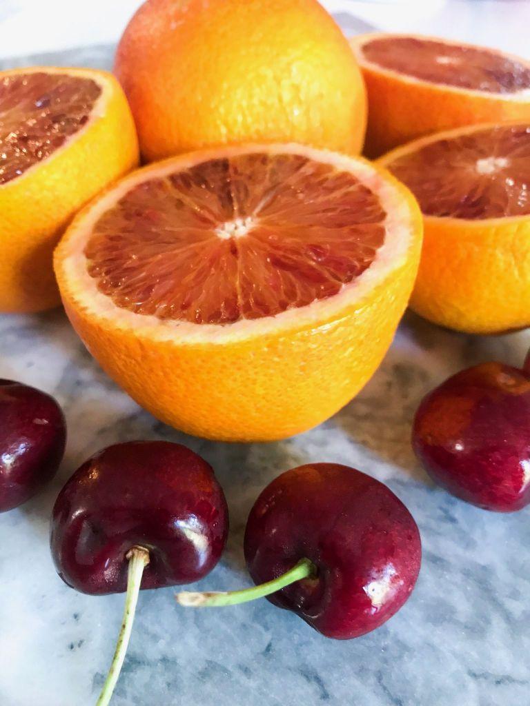 No Sugar Blood Orange Cherries Canning Recipe