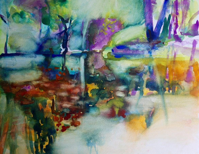 Jacinda Bayne Donnelly Reflections Watercolour sketch_6291