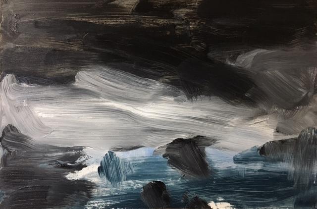 Harvey Mullen, Donnelly winter sketch 3