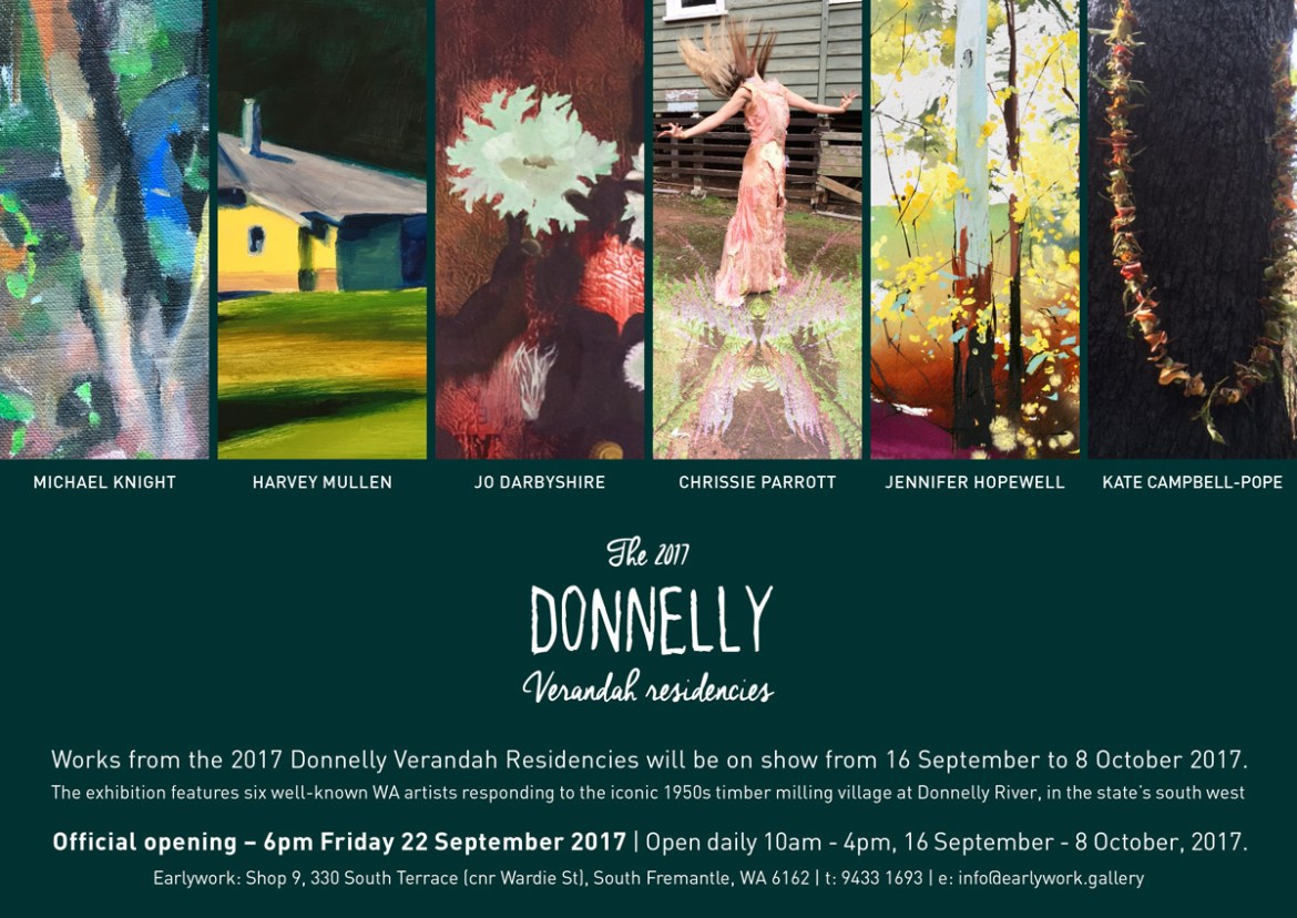Donnelly verandah residencies 2017 exhibition invite