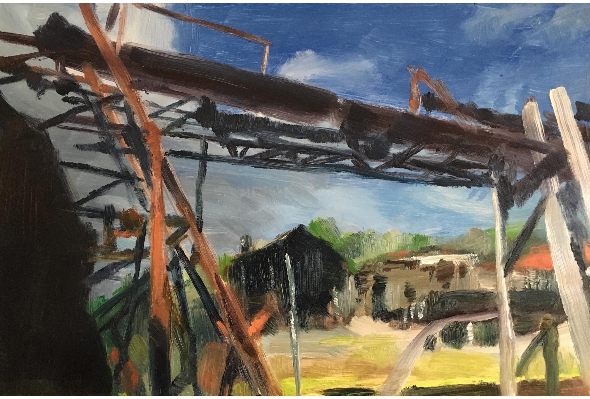 Harvey Mullen, Donnelly River Sawmill Gantry