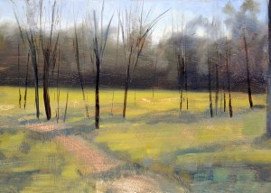 10. Peter Barker, Forest path $310