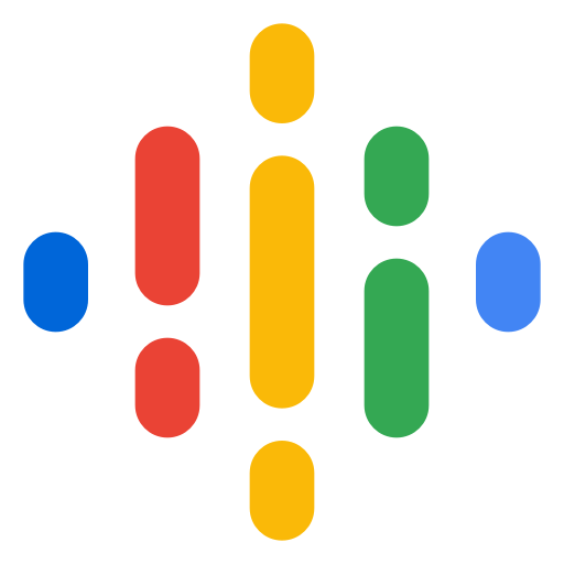 The logo for Google Podcasts