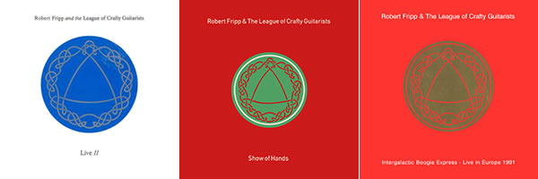 The League of Crafty Guitarists Knotwork: Live II, Show of Hands, and Intergalactic Boogie Express