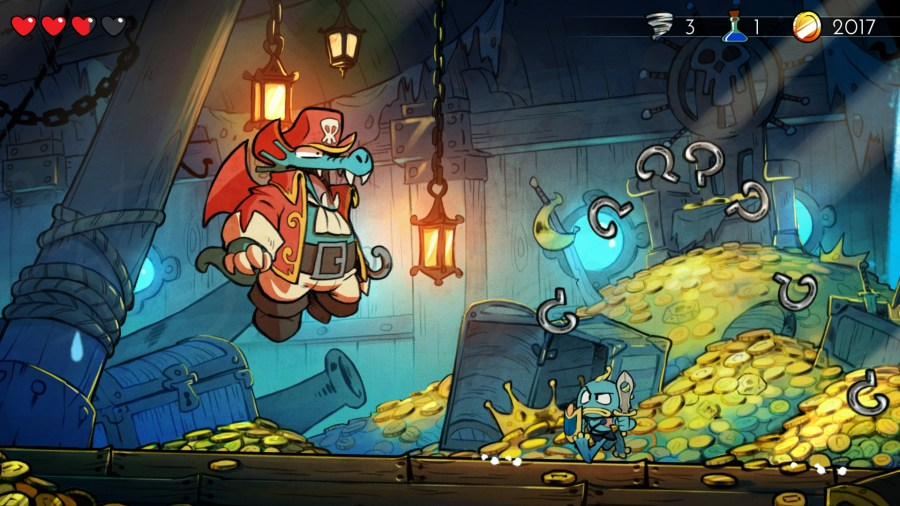 Image result for wonder boy and the dragon's trap